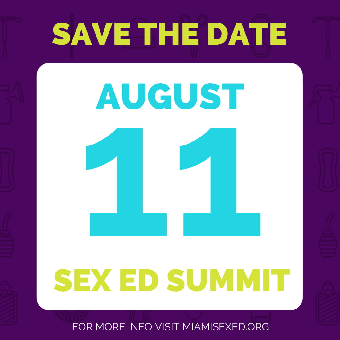 Safe Sex Is Great Sex: Sex Ed Summit